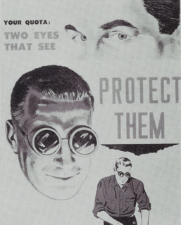 Goggles Forms of protective eyewear that do not enclose the nose