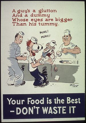 Your food is the best - Don't waste it - NARA ...