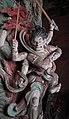 Yuan Dynasty (元) statue of Kundali (軍荼利明王; 军荼利明王; Juntuli Mingwang) one out of two Wisdom Kings, or vidyaraja (明王; Mingwang), in Fusheng Temple (福勝寺; 福胜寺), Yuncheng, Shanxi, China Picture 1.jpg
