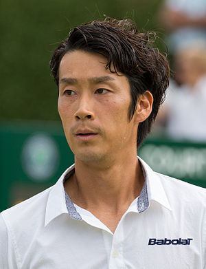 Yūichi Sugita - Yūichi Sugita at the 2015 Wimbledon Qualifying