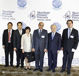 Yukiya Amano - Image: Yukiya Amano, NPC, PNRI