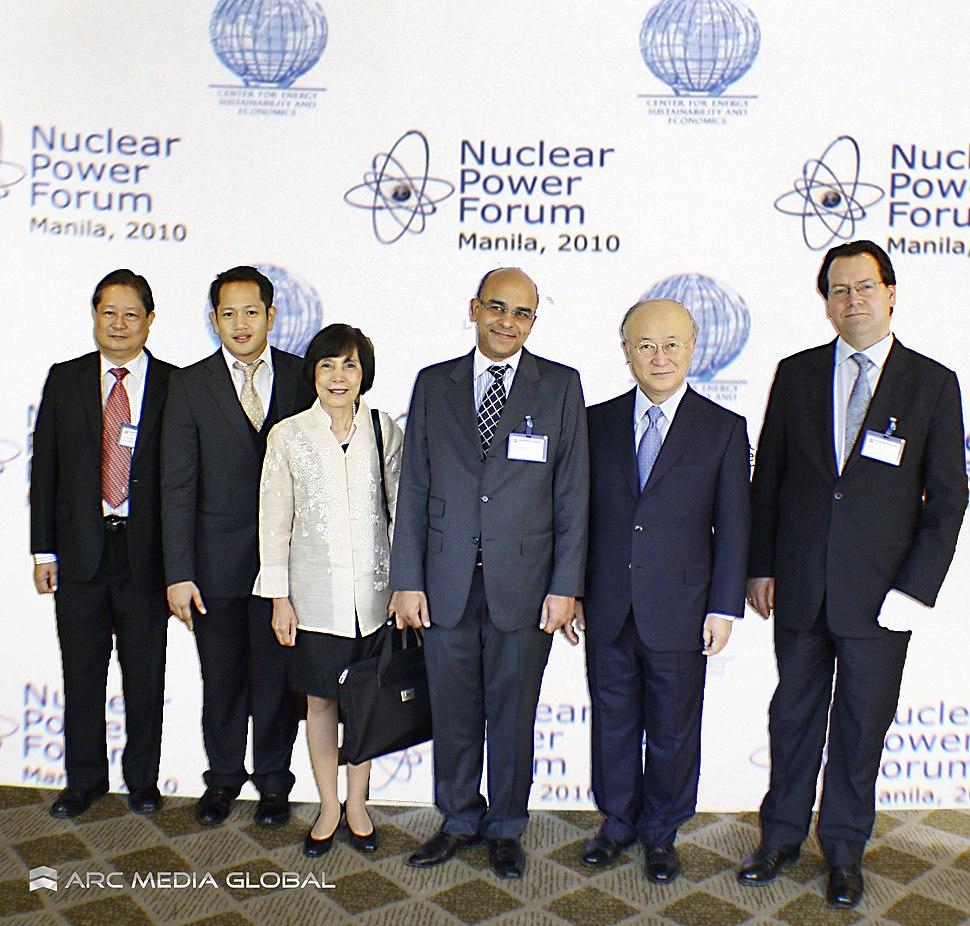 Yukiya Amano, NPC, PNRI
