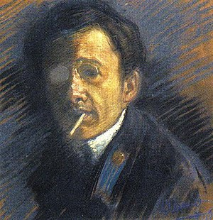 Yury Annenkov - Self-portrait, 1910
