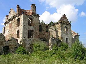 Zagórz - Image: Zagorz monastery ruin 3 beentree