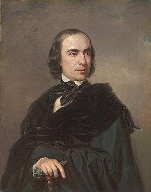 Timofey Granovsky - Portrait of Timofey Granovsky by Pyotr Zakharov-Chechenets, 1845