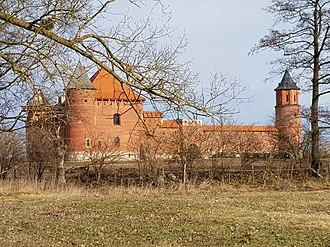 Tykocin Castle - Image: Zamek w Tykocinie feb 2019