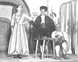 <i>Die wundersame Schustersfrau</i> Opera by Udo Zimmermann and Eberhard Schmidt