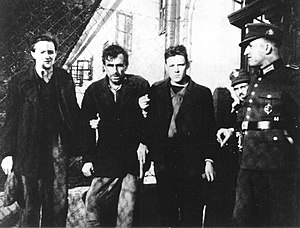 Slovene Lands in World War II - Prisoners in Begunje na Gorenjskem, 1941