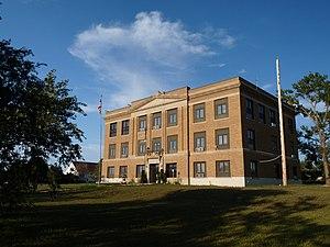 Ziebach County, South Dakota - Image: Ziebach County Courthouse