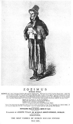 Zozimus - Image: Zozimus