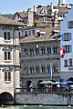 Zunfthaus zur Saffran & Haue - Limmat - Wühre 2015-07-16 12-27-15.JPG