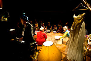 "Theatre for Early Years - Image: ""The Attic"" by Starcatchers 2010 Scotland"