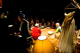 """Theatre for Early Years - """"The Attic"""", 2010. Produced by Starcatchers, Scotland."""