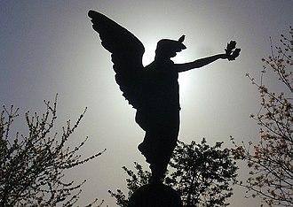 "Finsbury - Image: ""Through Trial To Triumph"", Finsbury War Memorial geograph.org.uk 1251842"