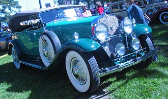 Cadillac Series 355 - Image: '31 Cadillac Phaeton (Auto classique Salaberry De Valleyfield '11)