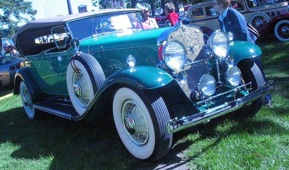'31 Cadillac Phaeton (Auto classique Salaberry-De-Valleyfield '11)