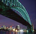 (1)Sydney Harbour Bridge at night.jpg