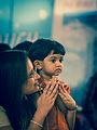 (1) A puja, pooja, prayer in progress.jpg