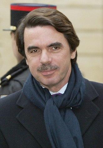 José María Aznar - Aznar in 2003