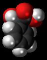 (R)-Mandelic acid molecule spacefill.png