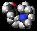 (R)-Meptazinol molecule spacefill.png