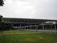 ©India.Andhra Pradesh.Hyderabad.Rajiv Gandhi International Airport-1