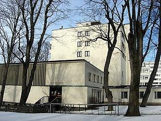 Erik Bryggman - Åbo Akademi University Library, Turku (1935)