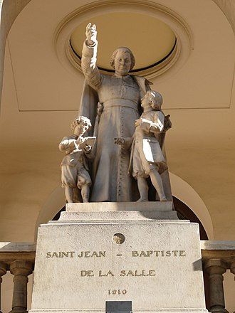 Jean-Baptiste de La Salle - Statue in the Church of Saint Jean-Baptiste de La Salle, Paris, France