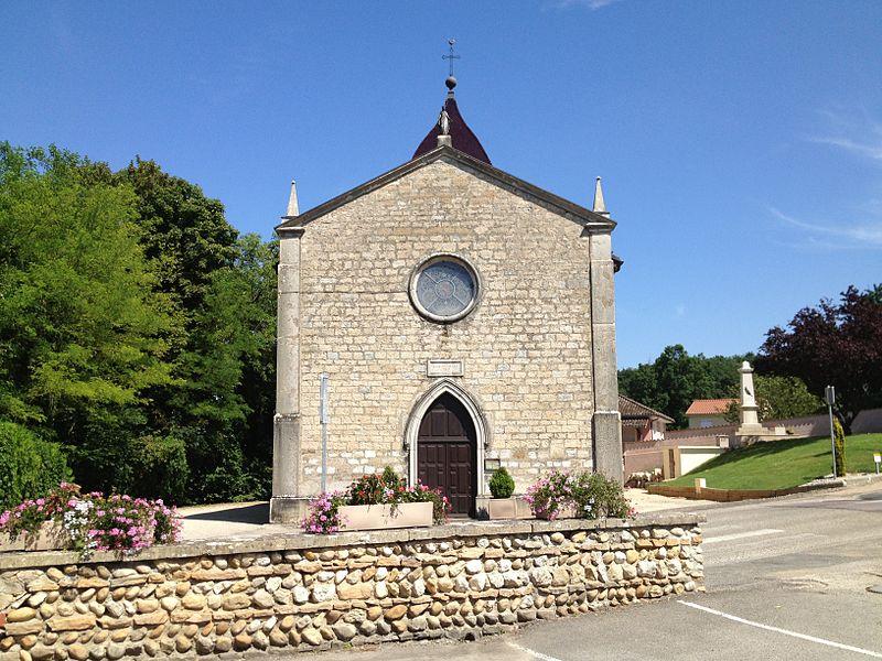 Église Saint-Jean-Baptiste de Saint-Jean-de-Niost.