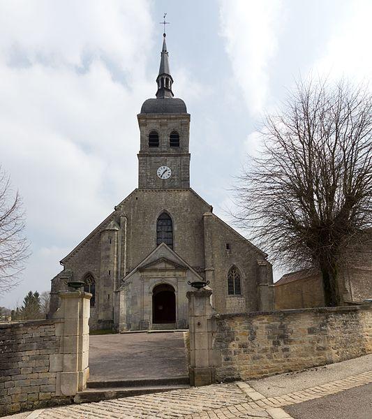 Église Saint-Louvent d'Andelot, Façade occidentale, (Inscrit, 1925)