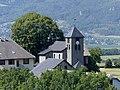 Église d'Hauteville en Savoie vues des hauteurs (été 2019).JPG