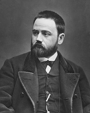 Émile Zola - Zola early in his career