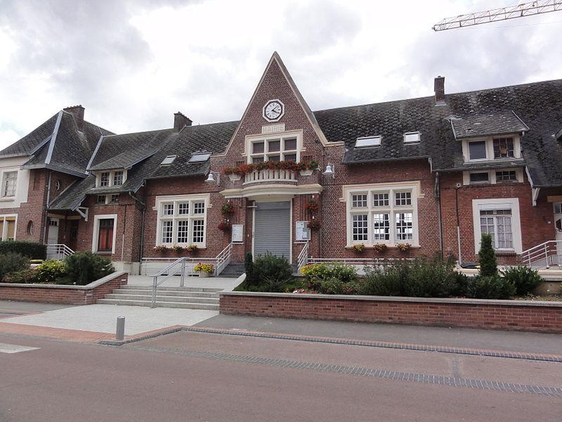 Étreillers (Aisne) mairie