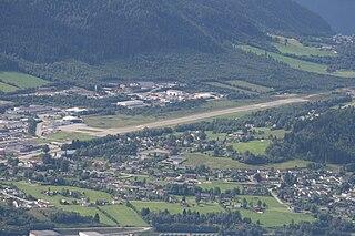 Ørsta–Volda Airport, Hovden airport in Norway