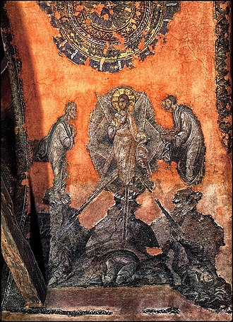 Church of the Holy Apostles (Thessaloniki) - Fresco of 14th century