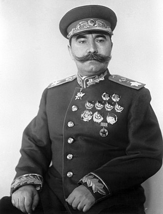 Semyon Budyonny - Marshal of the Soviet Union Semyon Mikhailovich Budyonny.