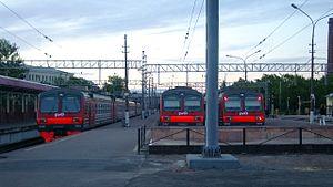 Vyborgsky District, Leningrad Oblast - Vyborg train station