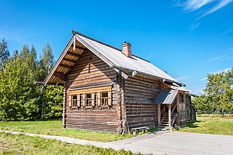 Log house - Russian-style log house