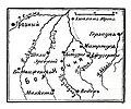 Карта к статье «Маюртуп». Военная энциклопедия Сытина (Санкт-Петербург, 1911-1915).jpg