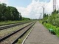 Пассажирская платформа на станции Илуксте - panoramio.jpg