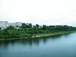 The Ussuri River in Lesozavodsk
