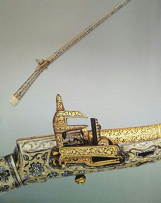 Kumyks - Rifle of the Kumyk Shamhal of Tarki, 19th century, Metropolitan Museum of Art, New-York
