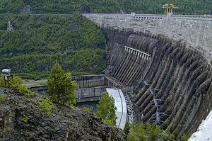 Sayano–Shushenskaya hydroelectric power station