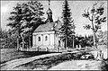 Свята-Духаўскі касцёл у Язвінах на мал. Напалеона Орды.jpg