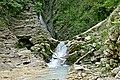 Сочинский национальный парк. Каменный завал в нижней части водопада Чудо-Красотка.jpg