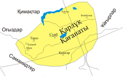 Location of Karlukai