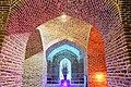 مسجد کاروانسرای دیر گچین که در محل چهارطاقی قدیم دیر ساخته شده - جاذبه های گردشگری استان قم - میراث ملی 28.jpg