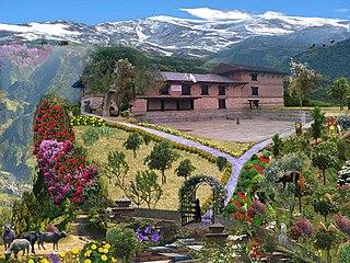 Gaunsahar City in Gandaki Pradesh, Nepal