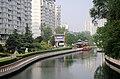 南长河从此进入紫竹院公园 - panoramio.jpg