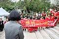 臺北科技大學105週年校慶會場的歡迎蔡英文總統儀式.jpg